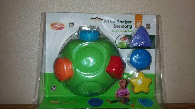 Sorter piłka sensoryczna Dumel