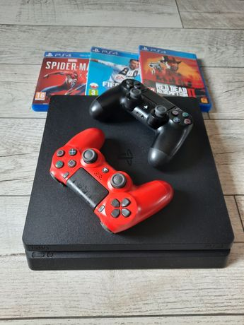 PS 4 dwa pady 500gb gry