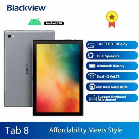 "Blackview Tab 8 10.1"" Ips экран 4/64 Gb 6580 mAh Silver Gray Новый"