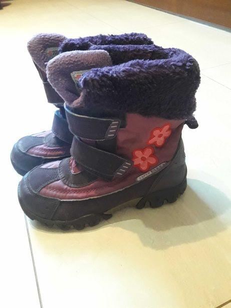 Зимние ботинки на девочку 30 разм.
