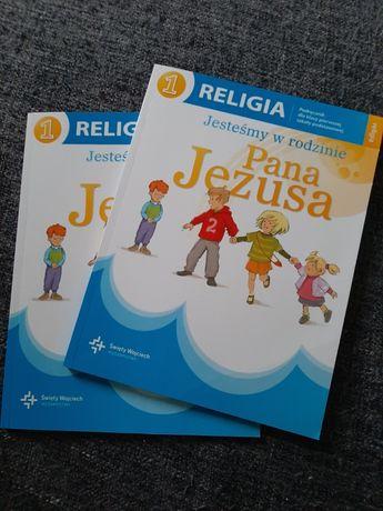 Książki do religii 1 klasa 2 szt. Jak nowe. Jesteśmy w rodzinie Jezusa