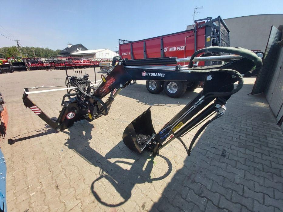 Ładowacz Koparka do Ciągnika H500T H800T HYDRAMET Cyklop Mikrus Troll
