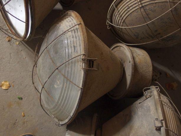 Stare lampy przemysłowe ORP-400 loft