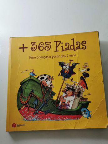 """Livro """"+365 Piadas"""""""