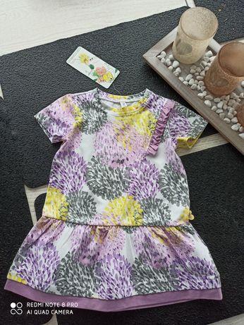 Nowa sukienka Coccodrillo rozmiar 68