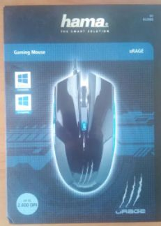 Rato gaming Hama uRage, NOVO, caixa selada