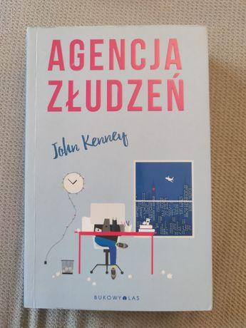 """Książka """"Agencja złudzeń"""" J.Kenney"""