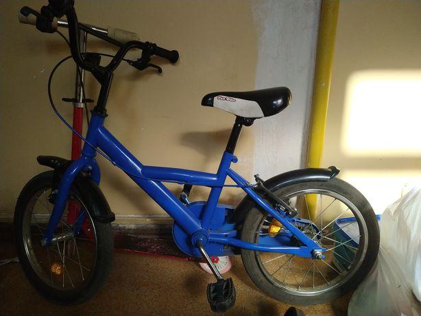 Rower dziecięcy niebieski
