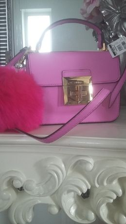 Pink Torebka Pompon ALDO Nowa