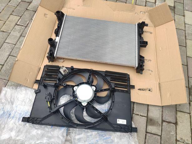 Диффузор всборе оригинал новый,радиатор Jeep Renegade 2.4 USA оригинал