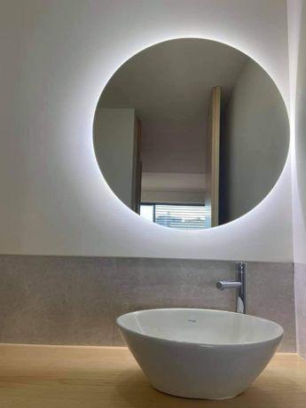 Espelho led redondo