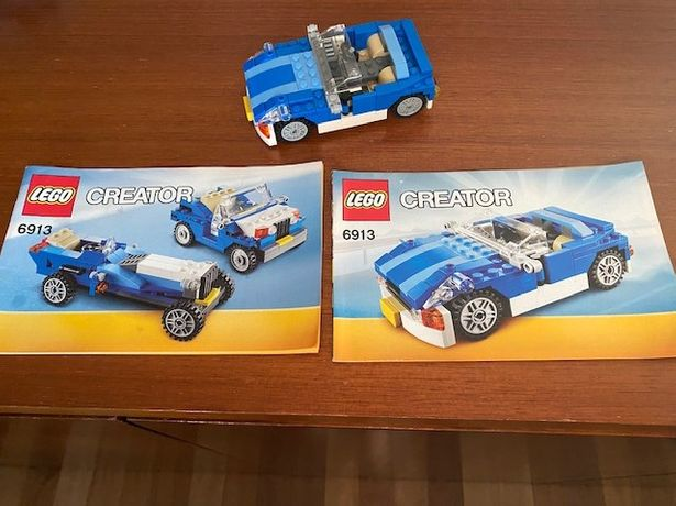 Lego Descapotável Azul de Dois Lugares - Creator 6913