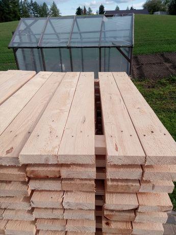 Podesty drewniane do rusztowania choinkowego