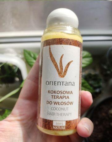 Kosmetyki Orientana krem do twarzy krem do rąk terapia do włosów kokos