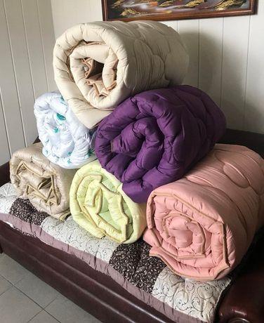 Одеяло ЗИМНЕЕ Холофайбер Ткань : Микрофибра. МНОГО РАСЦВЕТОК