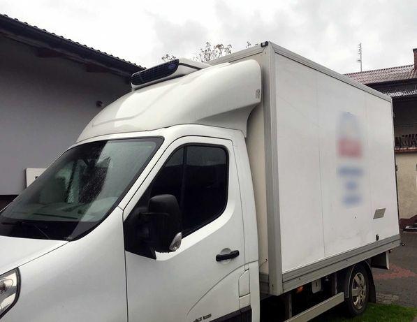 Kontener chłodnia izoterma z agregatem Carrier Renault Master Movano