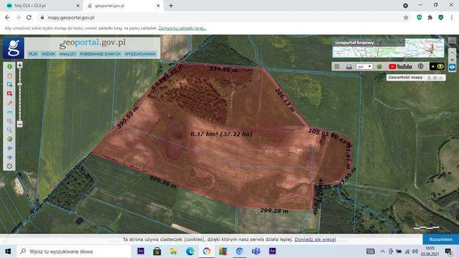 ziemia rolna 46 ha