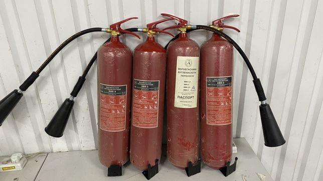 Углекислотный огнетушитель ВВК-5 Новый