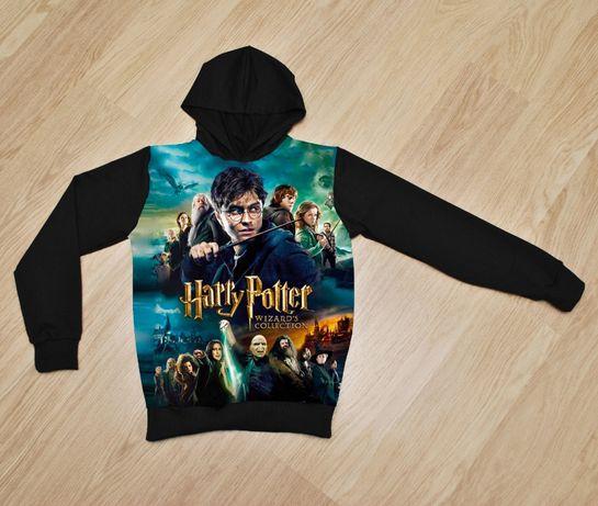 Утеплённое худи Гарри Поттер для мальчиков 8-14 лет