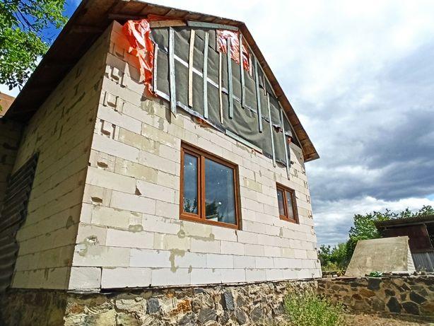 Недобудований будинок. 25 сот. с. Стецівка