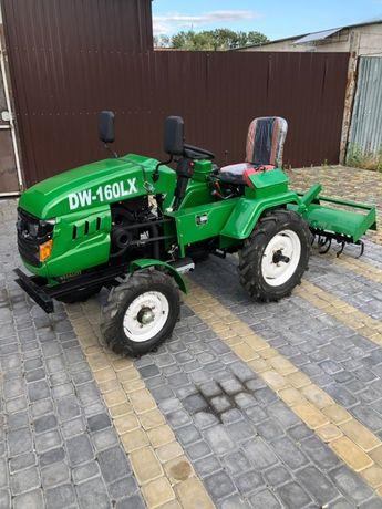 Мототрактор DW 160 LX міні трактор ДВ 160 ЛХ мини трактор ХИТ