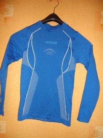 Koszulka dla kolarza termoaktywna KIPSTA 133-142 CM 10 lat