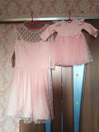 Платья мама-дочка