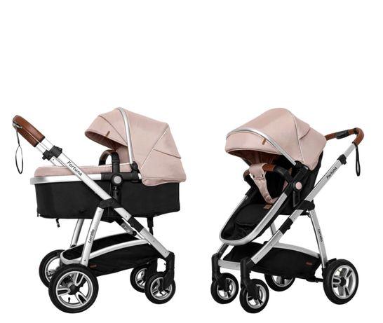 Детская универсальная коляска трансформер 2 в 1 CARRELLO Fortuna CRL-9