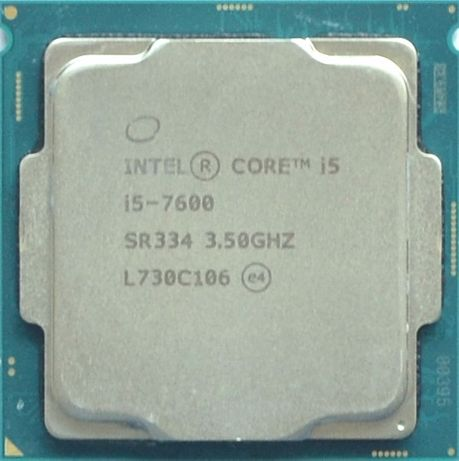Процессор i5 7600 3.5GHz 6Mb Intel Core 1151 SR334   Гарантия 1 Год