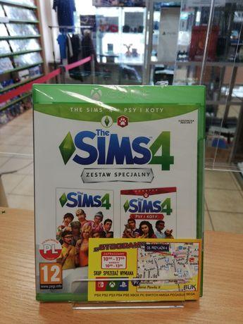 XBOX The Sims 4 + Psy i Koty PL Nowa Xbox One S X Series X