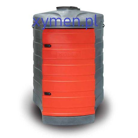 Zbiornik na olej napędowy 1500L dwupłaszczowy ON