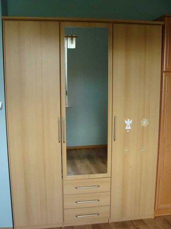 szafa 3-drzwiowa z lustrem