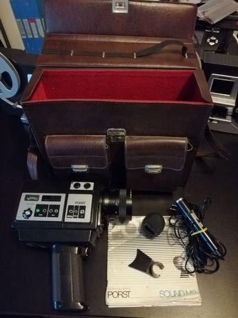 Porst sound M8 câmera filmar super 8