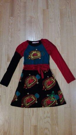 Desiqual sukienka 7-8 lat. Jak nowa