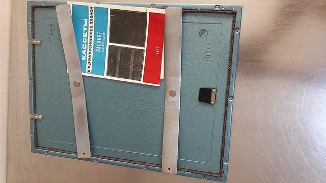 Рентгеновская кассета 30×40             цена-750гр