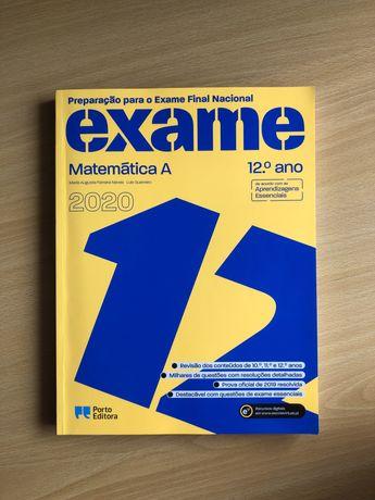 Livro de Preparação para Exame Nacional 2020 | 12º ano | MATEMATICA A