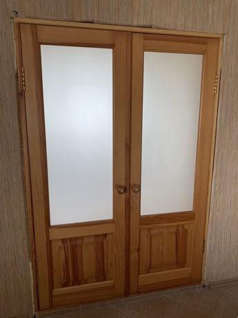 Двустворчатая дверь межкомнатная