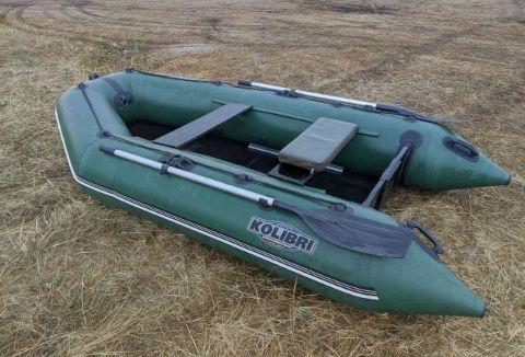 Лодка Колибри 300 мотор Меркурий 5л.с