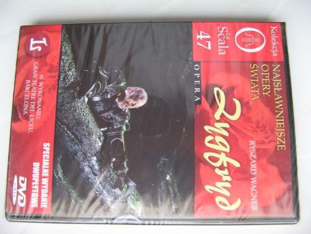 La Scala Opery, Zygfryd, Ryszard Wagner, 2 płyty DVD, 250 minut/folia