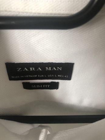 Biala koszula Zara Man L