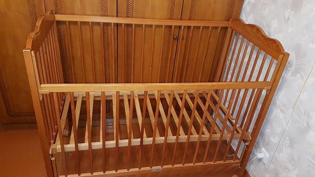 Детская кроватка TRAMA (Португалия) из натурального дерева!