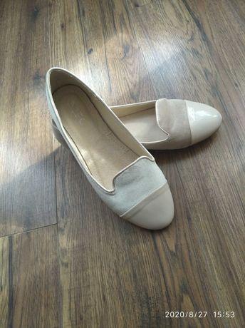 Półbuty baleriny lordsy buty jesienne 38 (24)