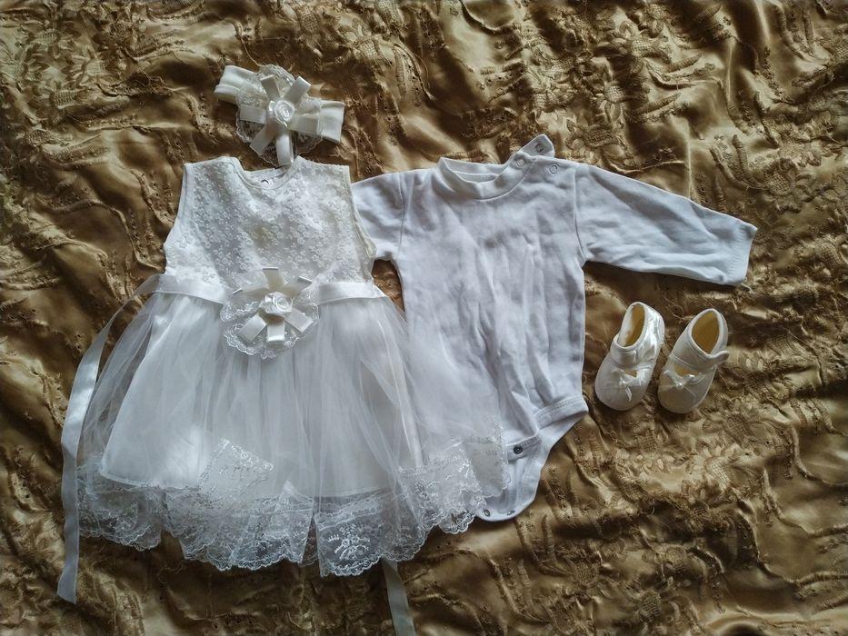 Для маленьких малышек, набор для крещения Изюм - изображение 1