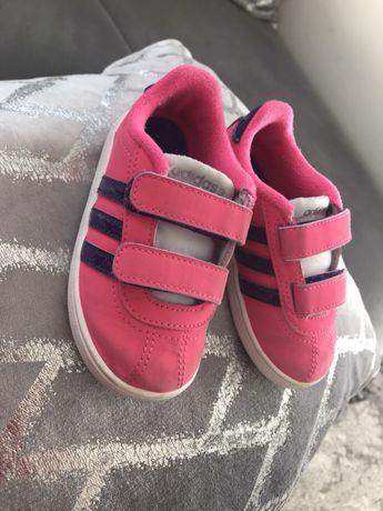 Buciki adidasy Adidas różowe 22