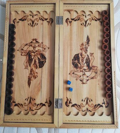 Нарды деревянные ручной работы