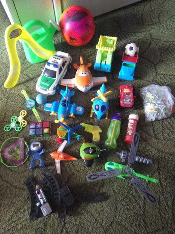 Игрушки для мальчика пакетом цена за весь набор