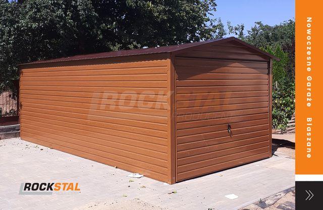 Garaż blaszany - blaszak - blacha drewnopodobna - super cena!