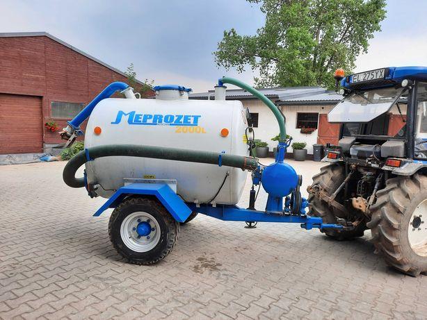 Wóz asenizacyjny MEPROZET 2000 L