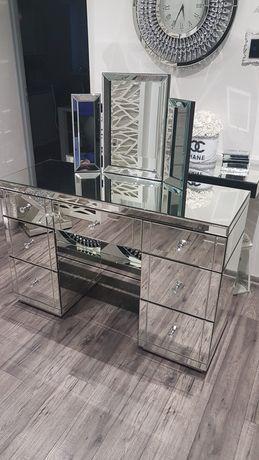 Toaletka konsola biurko Glamour Lustrzana z lustrem!!