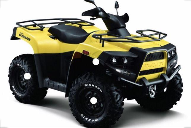 quad CecTek Gladiator 500 Czesci silnik, licznik,rama Pl, Na Czesci